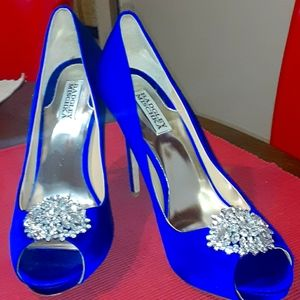 Ladies size 10 badgley mischka shoes